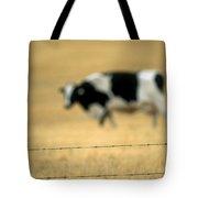 Grazing Cow, Alberta, Canada Tote Bag