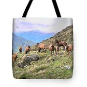 Grazing In The Foothills Tote Bag