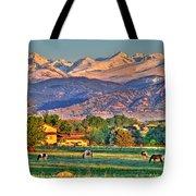 Grazing Tote Bag by Scott Mahon