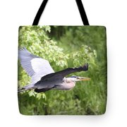 Great Blue Flight Tote Bag