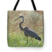 Great Blue Heron - Ardea Herodias Tote Bag