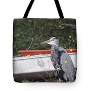 Great Blue Heron - Chicken Of The Sea Tote Bag