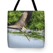 Great Blue Heron Escape Tote Bag