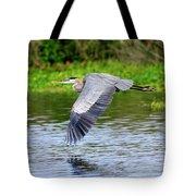 Great Blue Heron Inflight Tote Bag