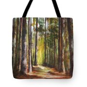 Great Brook Farm Summer Path Tote Bag