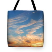Great Canadian Sunset Tote Bag