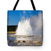 Great Fountain Geyser Tote Bag