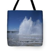 Great Fountain Geyser Seen Tote Bag