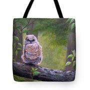 Great Horned Owlette Tote Bag