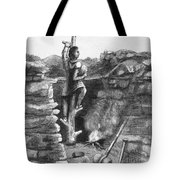 Great Lakes: Ancient Miner Tote Bag