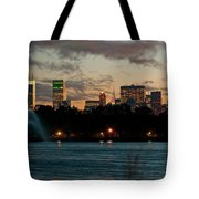 Great Pond Fountain Tote Bag