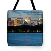Great Pond Skyline Tote Bag