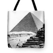 Great Pyramid Of Giza - Egypt - C 1926 Tote Bag