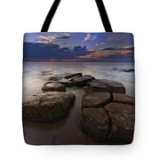 Great South Bay Sunset Tote Bag