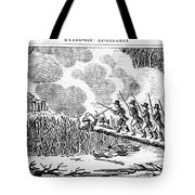 Great Swamp Fight, 1675 Tote Bag