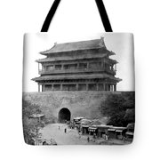 Great Wall Of China - Peking - C 1901 Tote Bag