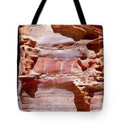 Great Wall Of Petra Jordan Tote Bag