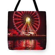 Great Wheel  Tote Bag
