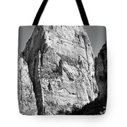 Great White Throne Tote Bag