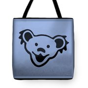 Greatful Dead Dancing Bears In Cyan Tote Bag