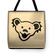 Greatful Dead Dancing Bears In Sepia Tote Bag