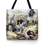 Greece: Grave Robbers Tote Bag