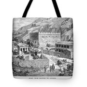 Greece: Road To Athens Tote Bag