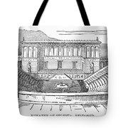 Greece: Theater Of Segesta Tote Bag