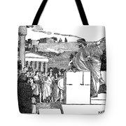 Greek Assembly Tote Bag