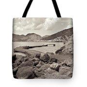 Greek Harbour Tote Bag