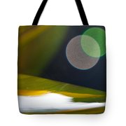 Green And Gold Abstract Tote Bag