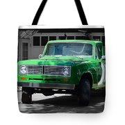 Green And Gray Tote Bag