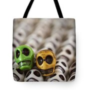 Green And Yellow Tote Bag