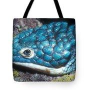 Green Arboreal Alligator Lizard Tote Bag