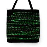 Green Arrows Tote Bag