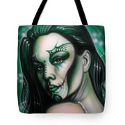 Green Beauty Tote Bag