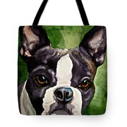 Green Black And White Tote Bag