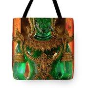 Green Buddha Tote Bag