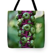 Green Buttons Tote Bag