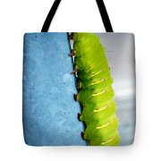 Green Caterpillar  Tote Bag