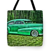 Green Classic Hdr Tote Bag