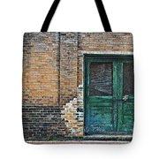 Green Doors Tote Bag