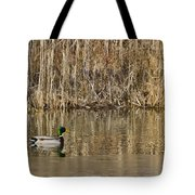 Green Drake Reflections Tote Bag
