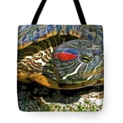 Green Eyed Lady Tote Bag