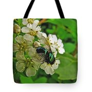 Green Fly Tote Bag