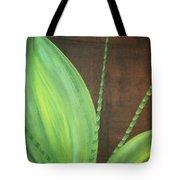 Green Foliage Tote Bag