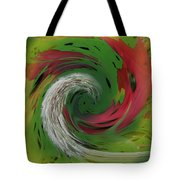 Green Funnel Tote Bag