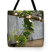 Green Grapes On Rusted Arbor Tote Bag