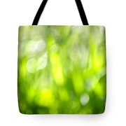 Green Grass In Sunshine Tote Bag by Elena Elisseeva
