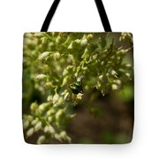 Green Helicid Bee 6 Tote Bag